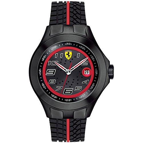 Scuderia Ferrari Gents SF103 Black 'Textures Of Racing' Watch 0830027