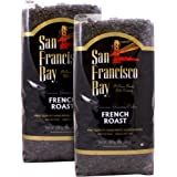 San Francisco Bay French Roast Whole Bean Coffee 3 lb. Bag 2-pack