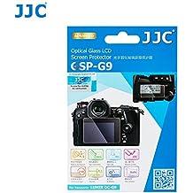 JJC Anti-scratch Glass Screen Protector LCD Cover for Panasonic Lumix DC-G9 Camera / DC-G9KBODY, Includes Shoulder Screen / Sub-screen PET Film Protector