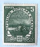 Used Romania Stamp %281951%29 5L Five Ye