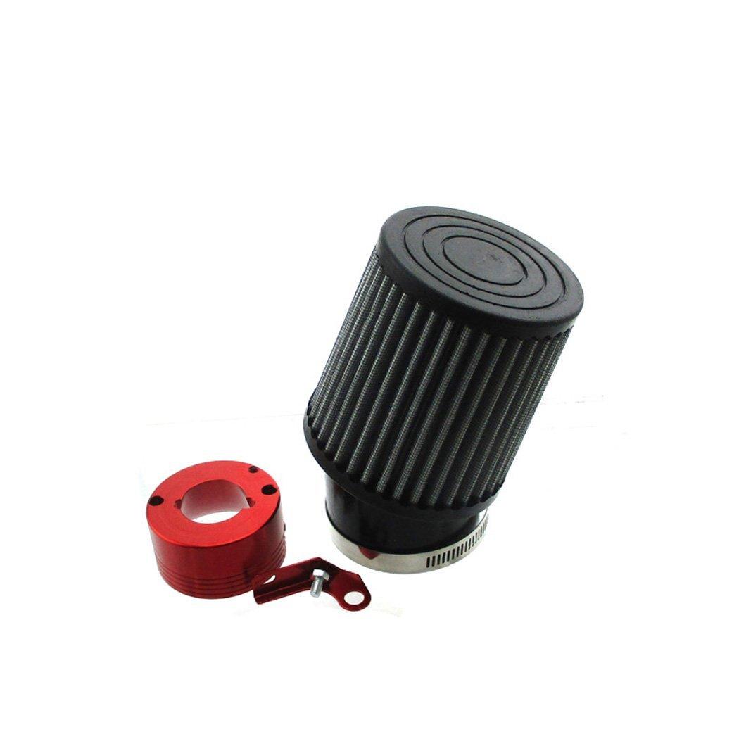 XLYZE CNC Billet Aluminum Adapter Gold 62mm Air Filter for GX340 GX390 Clone Carburetor GX270s GX390s 13hp 15hp GX200s /& 6.5 Chinese OHVs