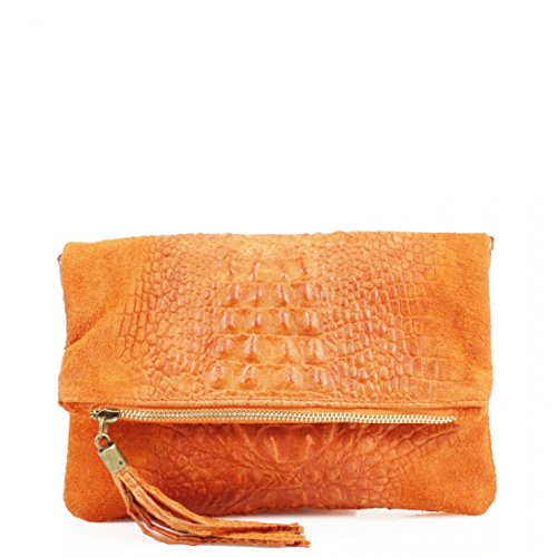 Bag Snakeskin Ladies Shoulder Bag Bag Messenger Over Shoulder Leather Womens Orange Clutch Crossbody Designer Bag qtx4wTa5