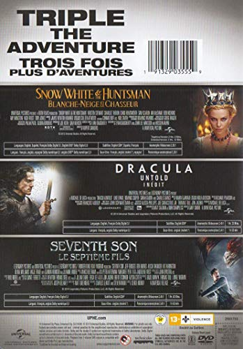 Snow White and the Huntsman / Dracula: Untold / Seventh Son (Triple Feature)