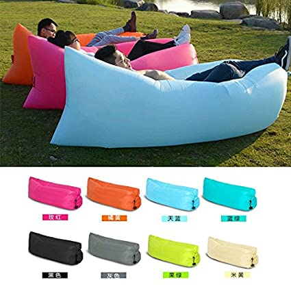 inflatable outdoor furniture. Beach Portable Outdoor Furniture Air Bed Inflatable Hammock Sleeping Bag Camping Sofa T