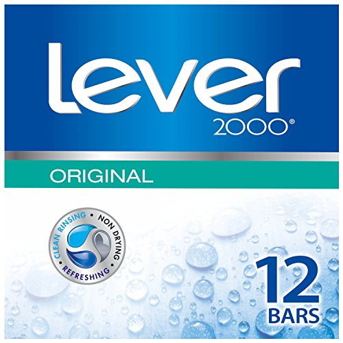 Lever 2000 Bar Soap, Original 4 oz, 12 Bar Twin Pack
