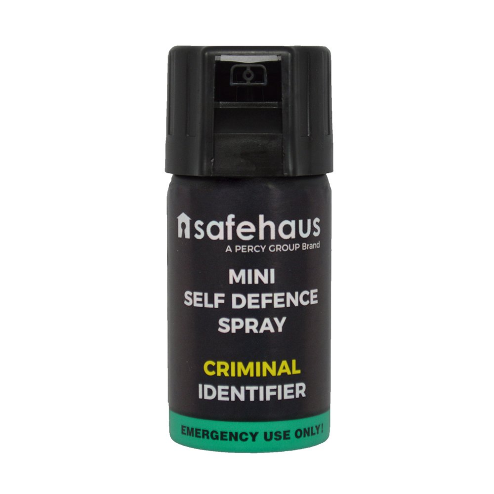 safehaus mini self defence spray criminel de l 39 identificateur ebay. Black Bedroom Furniture Sets. Home Design Ideas