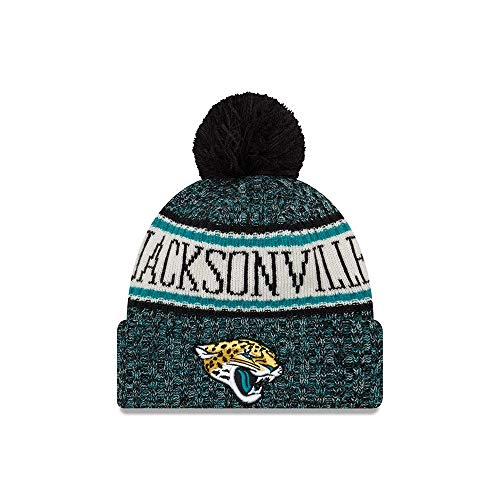New Era Jacksonville Jaguars NFL On Field 18 Sport Knit Beanie Beany