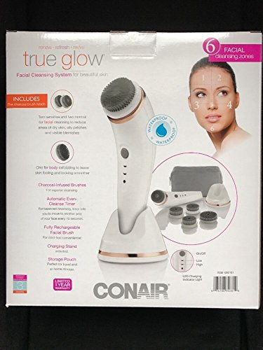 conair true glow face brush - 2