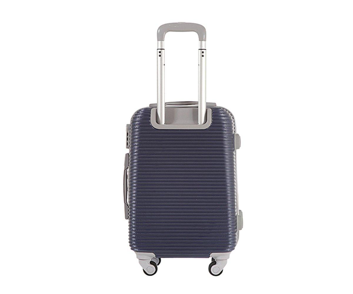 Maleta cabina 50 cm. 4 ruedas trolley cascara dura adecuadas para vuelos de bajo coste art 1165/pequegno azul: Amazon.es: Equipaje
