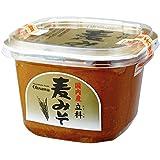 オーサワジャパン 国内産立科麦みそ (カップ)  750g