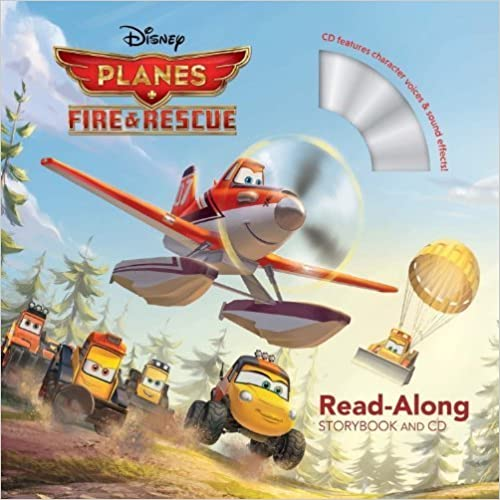 Planes: Fire & Rescue Read-Along Storybook and CD by Disney Book Group (2014)