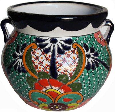 (Fine Crafts Imports Medium Paracho Mexican Talavera Ceramic)