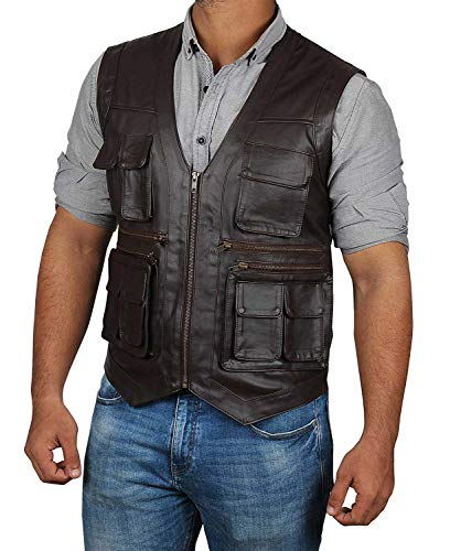 Decrum Halloween Costume for Men Jurasic Word Vest | L ()