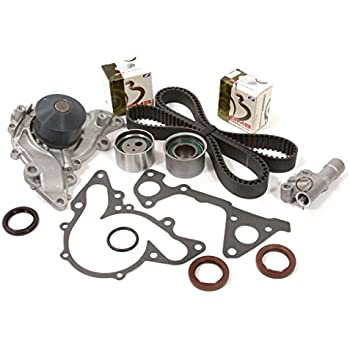 Evergreen TBK259HWPT Fits Mitsubishi Galant Montero Eclipse 3.0L 6G72 Timing Belt Kit Water Pump