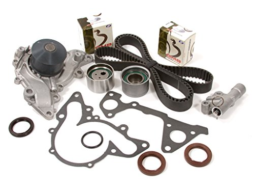 Evergreen TBK259HWPT Fits Mitsubishi Galant Montero Eclipse 3.0L 6G72 Timing Belt Kit Water Pump (Mitsubishi Montero Parts)