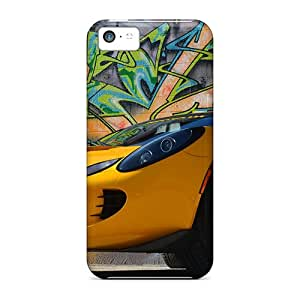 For Iphone Case, High Quality Lotus Graffiti For Iphone 5c Cover Cases