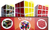 Sudoku-Cube, Magic-Cube & Animal Magicube - 3 Speed Brain Teasers - puzzle games for Adults & IQ games puzzles for Kids - Helps you prevent dementia & Stress! Included 120 Sudoku puzzles ebook