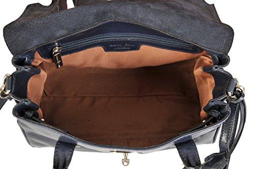 Navy donna spalla Gianni 9404060 Conti Jeans a Borsa M qO8SRw