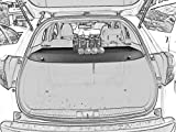Cargo cover for 2016 2017 2018 Honda HR-V HRV Black Rear Trunk Sheld by Kaungka (Can withstand the load)