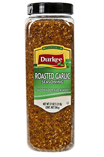 Durkee Roasted Garlic Seasoning  21 Ounce (Pack of 6) by Durkee