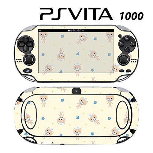 Skin Decal Cover Sticker for Sony PlayStation PS Vita (PCH-1000) - Girl's Kitty Doll -  Decals Plus, PV1-PA06