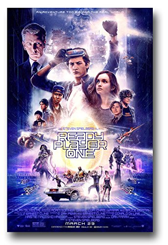 (Ready Player One Poster - Movie Promo 11 x 17 inches Main)