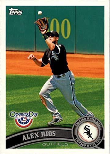 2011 Topps Opening Day #133 Alex Rios White Sox MLB Baseball Card NM-MT