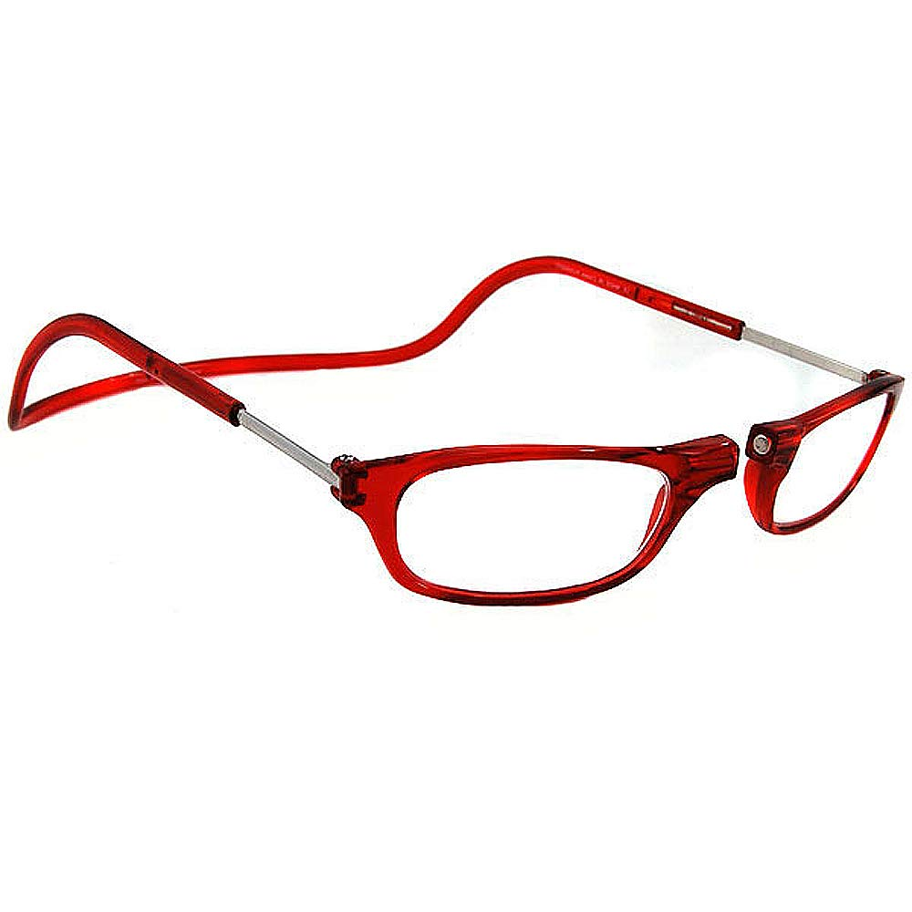 b9cafb1257e7 Amazon.com   CliC Magnetic Reading Glasses Red (2.00)   Beauty