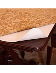 deluxe cushioned heavy duty table pad 52 x 108 with flannel