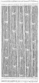product image for Heritage Lace Dragonfly 22-Inch by 72-Inch Sidelight Panel, Ecru