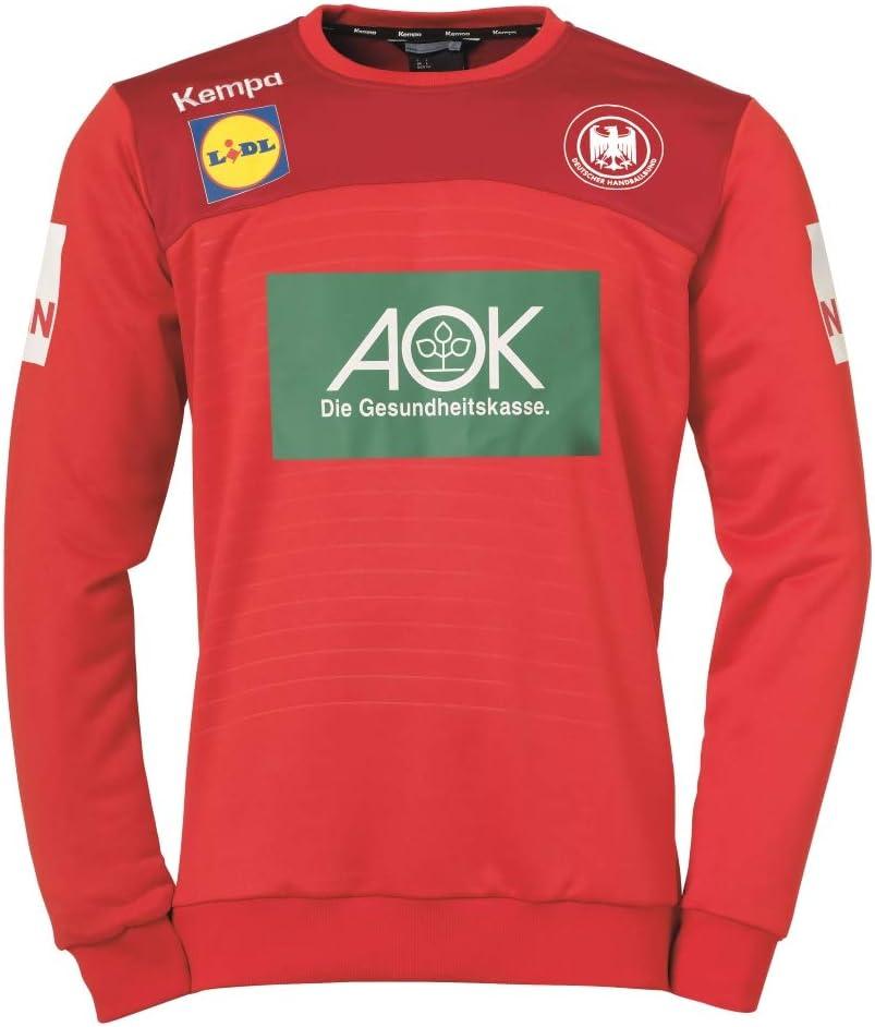 Kempa DHB WM 2019 - Camiseta de portero, color rojo: Amazon.es ...
