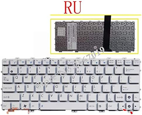 New Russian Laptop Keyboard for Asus for EeePC X101H X101CH X101 RU WHITE