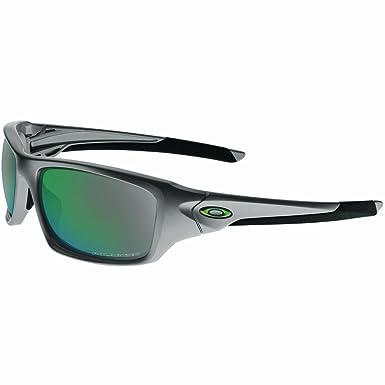 aced632905a8 Oakley Valve Polarized Iridium Rectangular Sunglasses,Dark Grey,60 mm