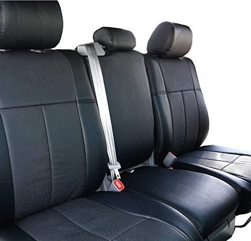 Saddleman S 049796-01 Black Custom Made Middle Low Back Bucket with armrests Seat Covers