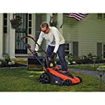 BLACK+DECKER 40V MAX Cordless Lawn Mower, 20-Inch (CM2043C) 14 Two 40V max Lithium ion batteries are included for twice the runtime Mulching, bagging and side discharge of grass clippings gives you 3-in-1 versatility Mow right up to edges and spend less time trimming thanks to the edgemax design