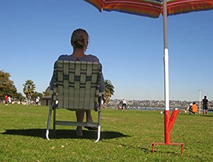 Amazon Com The Original Umbrella Stand Use Anywhere Sand Or