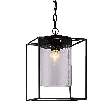 La luz de la lámpara de Techo Moderna HL413 Industrial Metal de Bubble lámparas de Cristal Pendiente de la luz de Edison