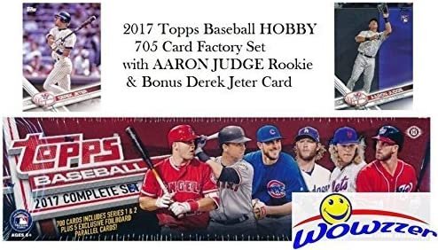 2017 Topps Baseball Complete Retail Factory Set with 2 Aaron Judge Rookies 705 Cards