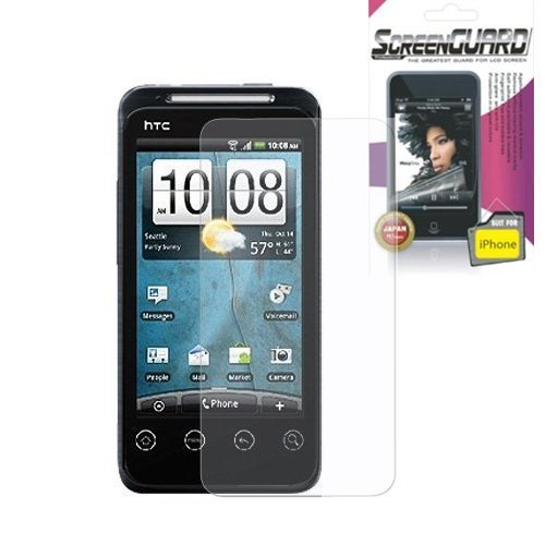 stal Clear Screen Protector (Htc Evo 4g Crystal)