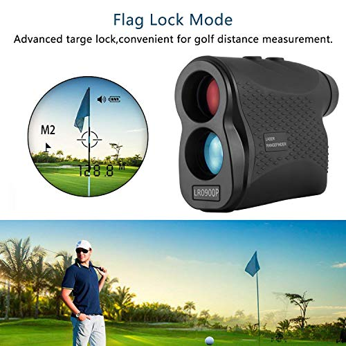 Nomtech 980yard Golf Laser Rangefinder with Fog, Scan, Speed Measurement for Hunting, Racing, Archery, Survey by Nomtech (Image #4)
