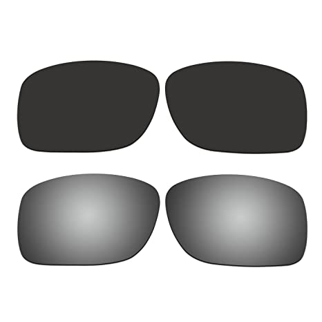 77b3bf4599c4 Amazon.com : ACOMPATIBLE 2 Pair Replacement Polarized Lenses for Oakley  Turbine XS (Youth Fit) Sunglasses OJ9003 Pack P5 : Sports & Outdoors
