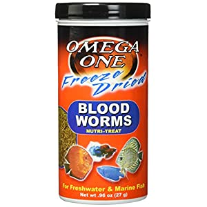 OMEGA One Freeze Dried Bloodworm .96oz 17