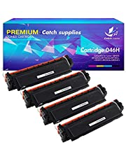 Catch Supplies 4Pack Compatible for HP 201X 201A Black CF400X CF401X CF400A CF401A HP M277dw M252dw Toner for HP MFP M277dw Toner HP M252dw M252n HP MFP M277dw M277n M277c6 M274n Toner Cartridges