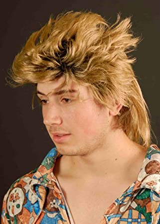 MagicBox 80s New Romantic Fancy Dress Mullet Wig Amazoncouk Toys Games