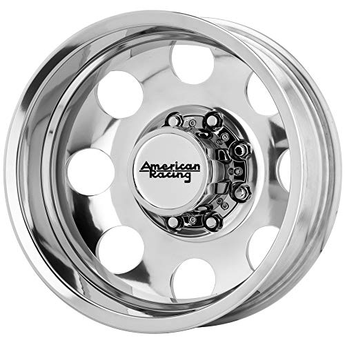 "American Racing AR204 Baja Dually Rear 17x6 8x6.5"" Polished Wheel Rim 17"" Inch"