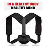 Back Brace Posture Corrector for Women and Men – Effective and Comfortable Posture Brace for Slouching & Hunching - Clavicle Support For Medical Problems & Injury Rehab