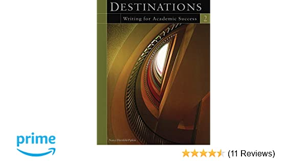 Destinations 2 Writing For Academic Success
