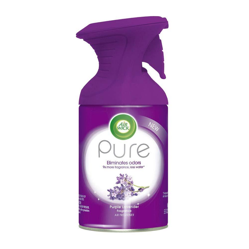 Air Wick Pure Air Freshener Spray Premium Fragrance Purple Lavender 5.5 oz (114 Spray Bottles) by Air Wick (Image #2)