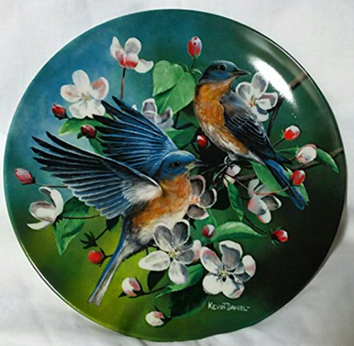 1986 First Issue (The Bluebird - Knowles Collectible Plate - Bradford Exchange)