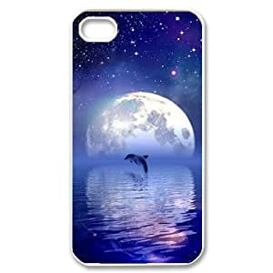 FLYBAI dolphin Phone Case For Iphone 4/4s [Pattern-2]